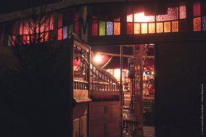 La taverne du village de Noël de Saint-Quentin