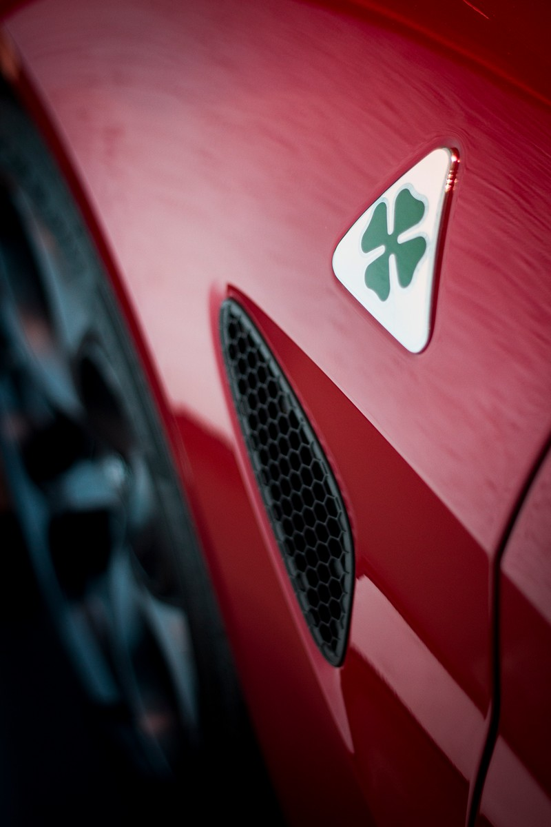 Quadrifoglio Verde Alfa Romeo Giulia