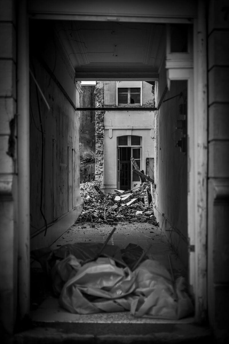 Décombres Saint-Quentin